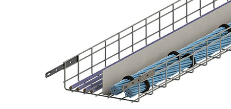 EAGLE BASKET welded wire mesh cable management systems