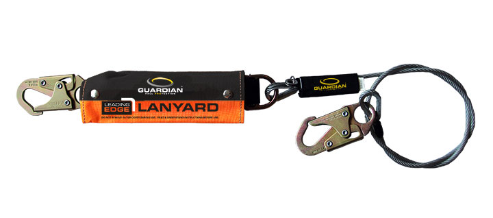 guardian leading edge cable lanyard