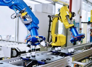 implementing robots in manufacturing