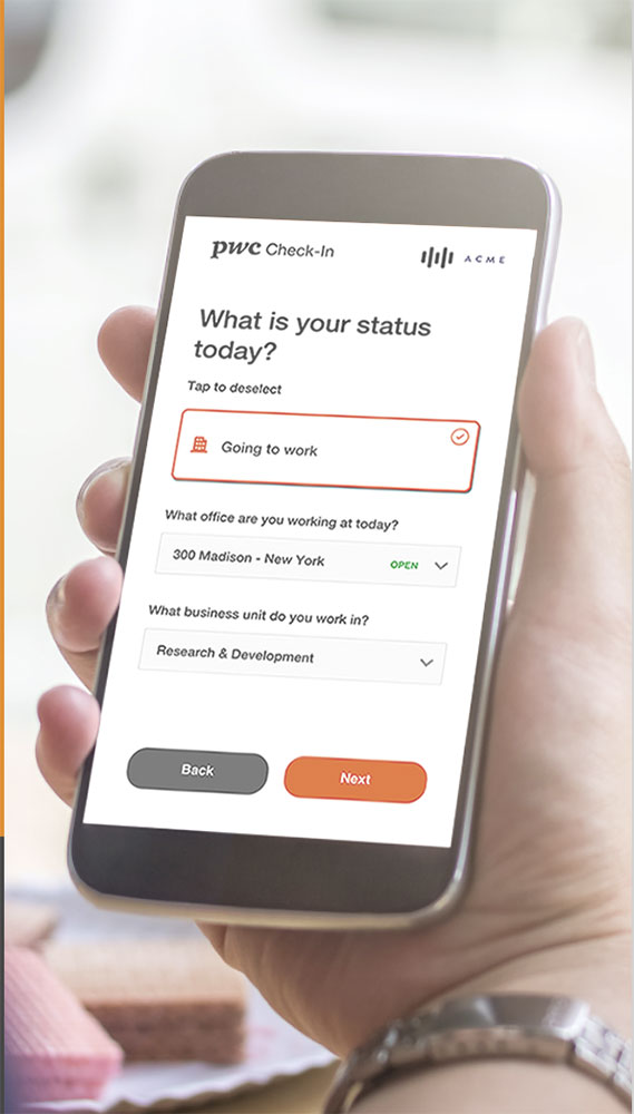 Check-In is a privacy-first platform that helps businesses make critical workforce decisions based on risk exposure.