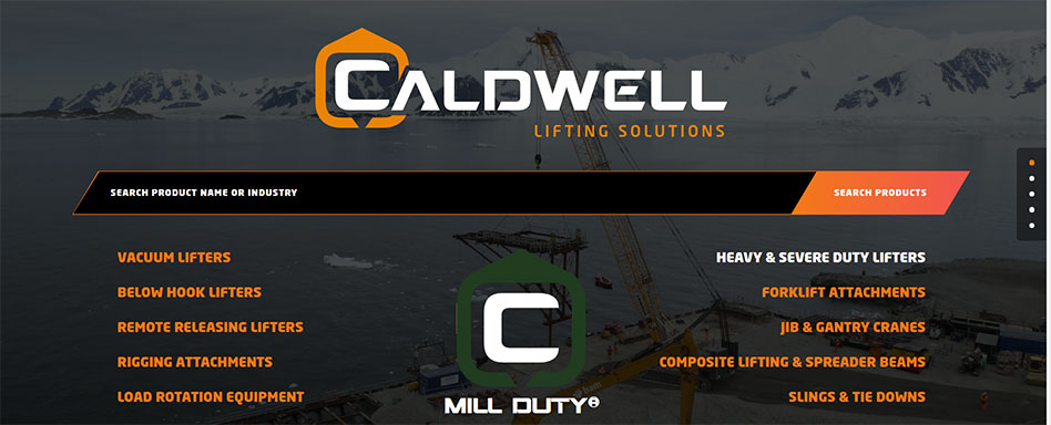 Rockford, Illinois-based The Caldwell Group Inc. has launched a new website at caldwellinc.com.