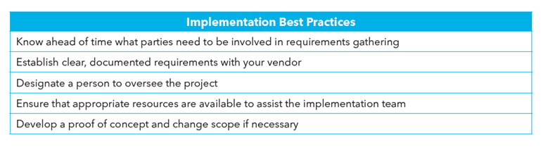 Steps to Implementation Success
