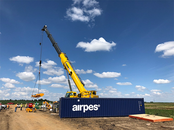 Airpes is a manufacturer of lifting, weighing and below-the-hook equipment.
