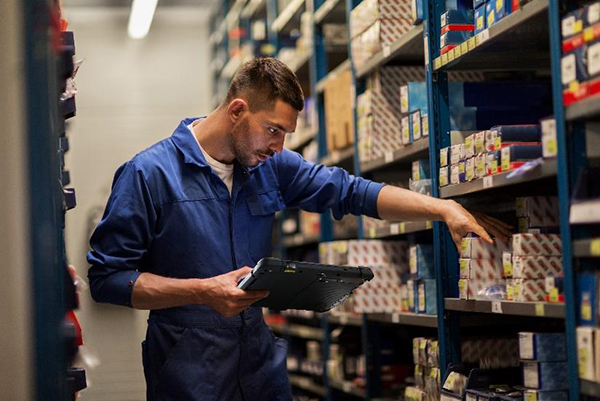 Android is a great choice for many handheld industrial applications such as quality checks or inventory control.