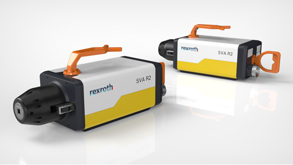 Compact, safe, efficient: The SVA R2 electric subsea valve actuator from Bosch Rexroth replaces the hydraulic cylinders that were previously required in the subsea process industry. (Image source: Bosch Rexroth AG)