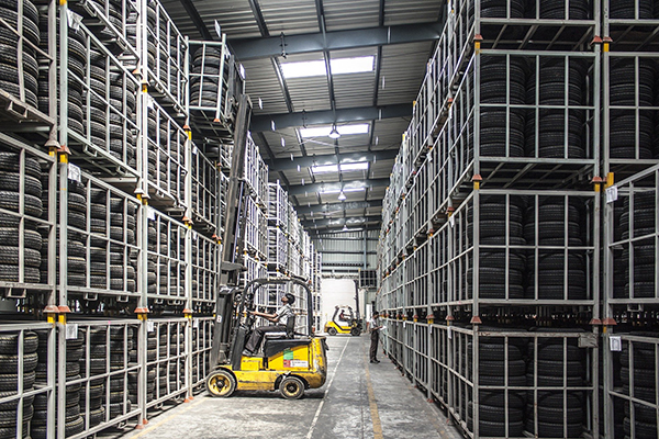 Use of the Cloud can help reduce the time between receipt of orders and delivery of goods.