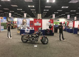 made in america trade show floor