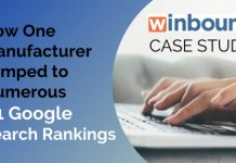 manufacturer jumped google rankings case study