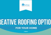 creative roofing options for your home infographic