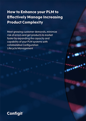 how to enhance your plm to effectively manage increasing product complexity whitepaper configit