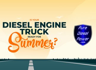 is your diesel engine truck ready for summer infographic