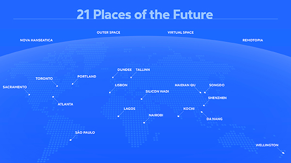 future of work 21 places map with cities