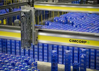 Cimcorp's MultiPick solution precisely controls and streamlines the material flow of a distribution center or dispatch area.
