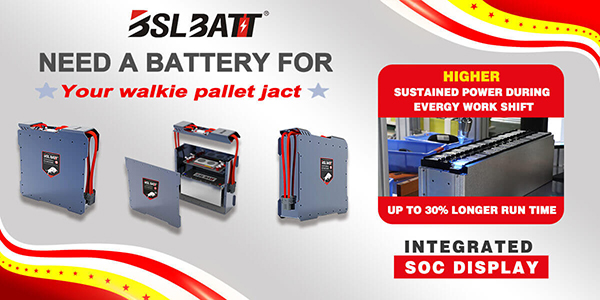 pallet jack series lithium ion battery