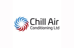 chill air conditioning logo