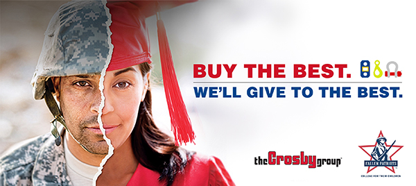 crosby group buy the best we'll give to the best promo