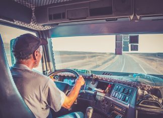 A less talked about aspect of the bill is what it could mean for truck driver training and recruitment. (Credit: TruckStop.com)