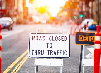 connected vehicle work zone safety shutterstock
