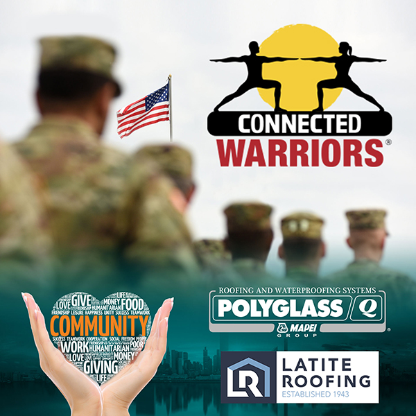 Polyglass Partners with Latite Roofing to Support Local Military Veterans