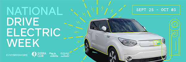 national drive electric week sept 27 - oct1